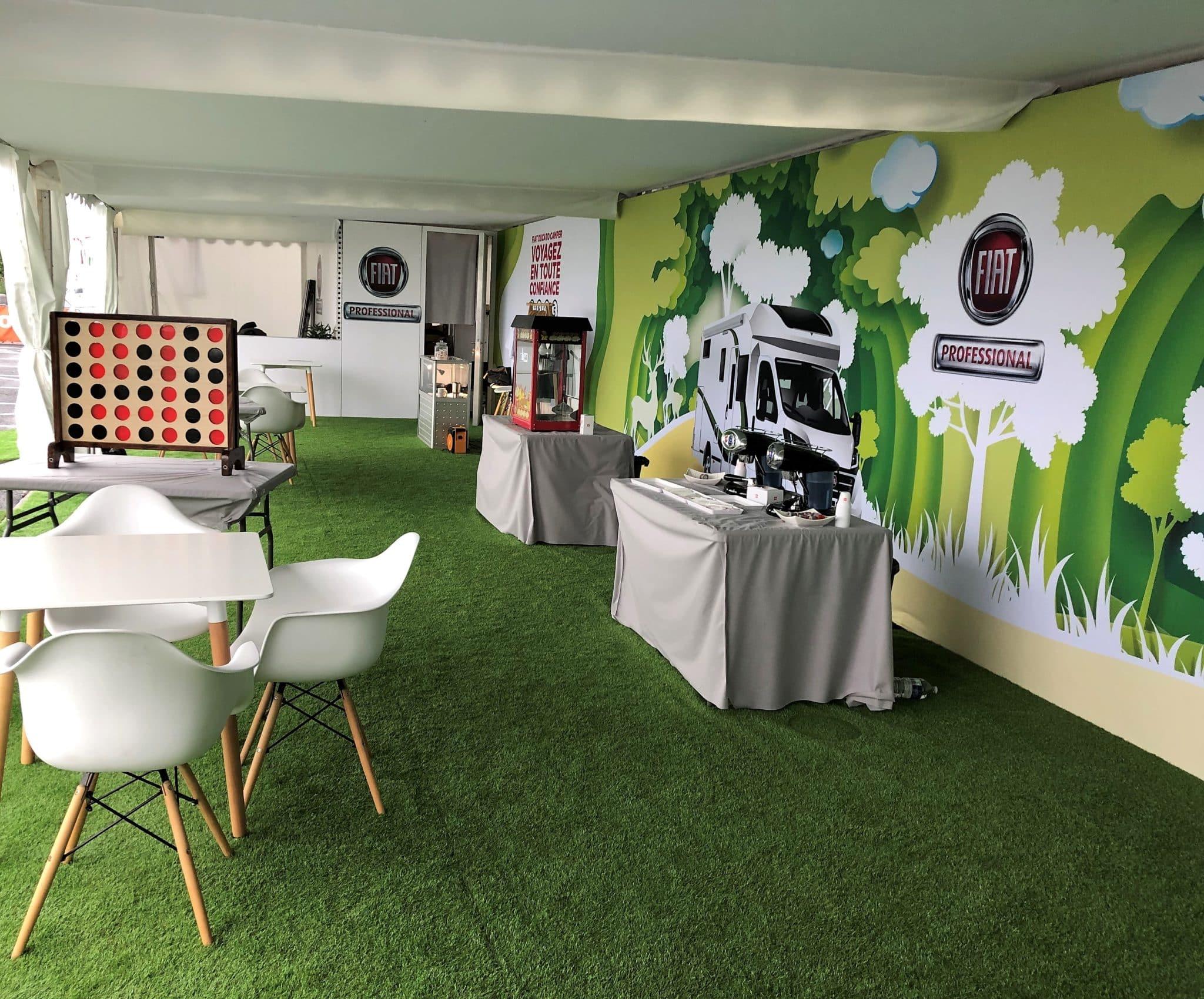 Agence événementielle : Hospitalité VIP sur salon professionnel